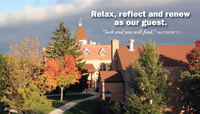 The Mission House Center of Lakeland College, through its advisory Church Relations Board, offers a special opportunity for UCC ministers to relax, reflect and renew.