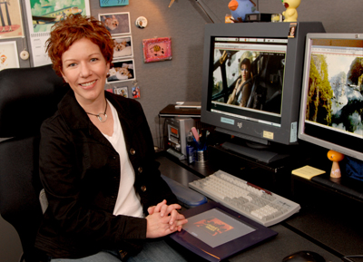 Beth D'Amato, a digital paint supervisor with Industrial Light and Magic