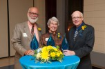 Three significant contributors honored during Homecoming